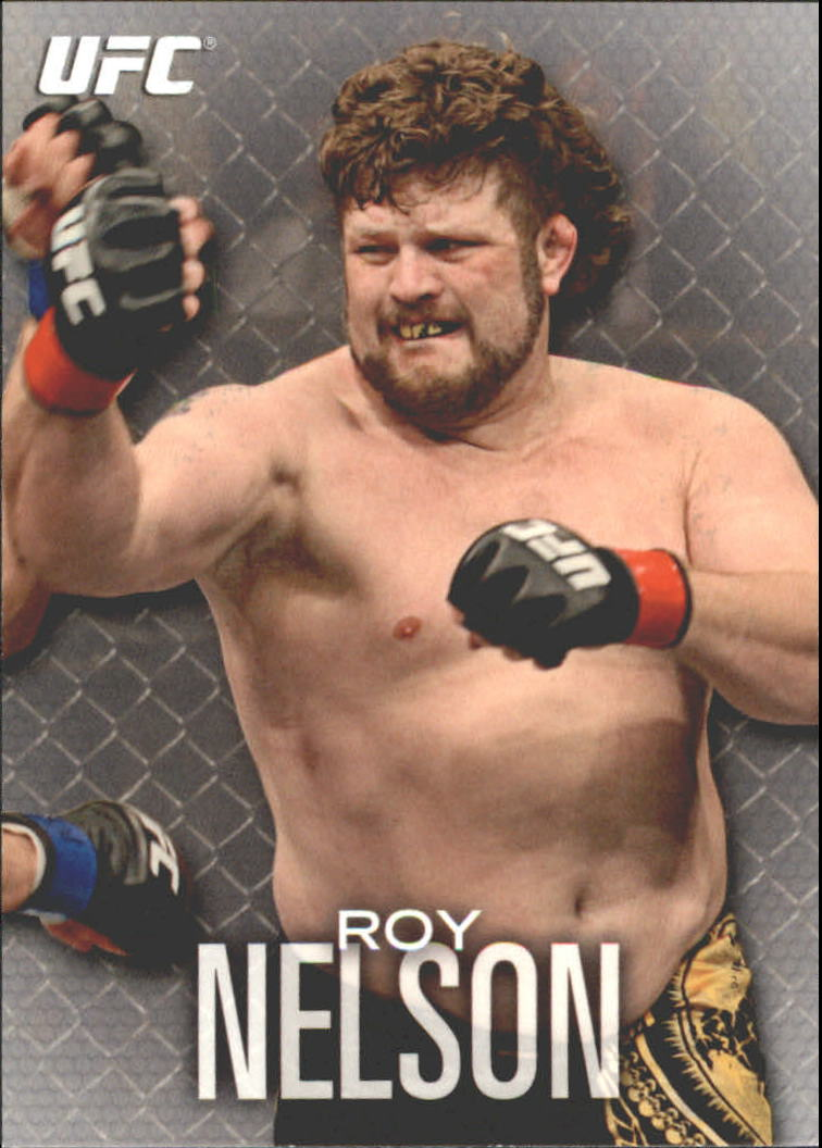 2012 Topps UFC Knockout #69 Roy Nelson