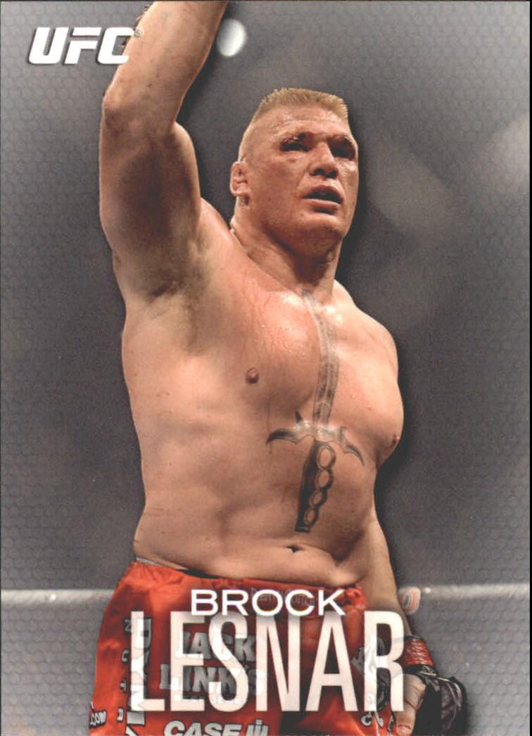2012 Topps UFC Knockout #80 Brock Lesnar