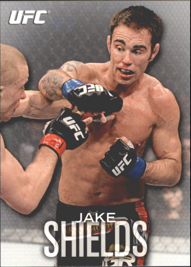 2012 Topps UFC Knockout #96 Jake Shields