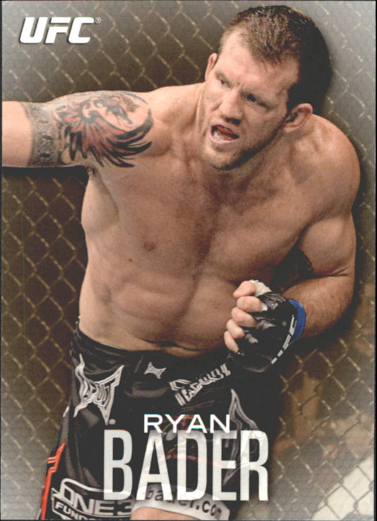 2012 Topps UFC Knockout Gold #60 Ryan Bader
