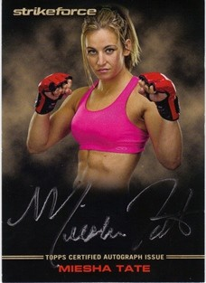 2012 Topps UFC Knockout Full Contact Autographs #FCMT Miesha Tate