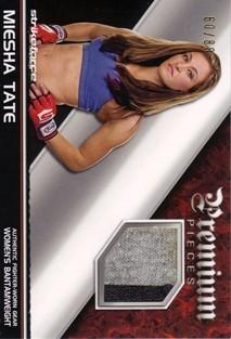 2012 Topps UFC Knockout Premium Pieces Relics #PPMT Miesha Tate