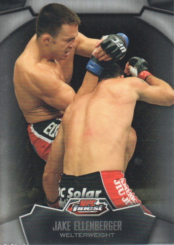 2012 Finest UFC #6 Jake Ellenberger