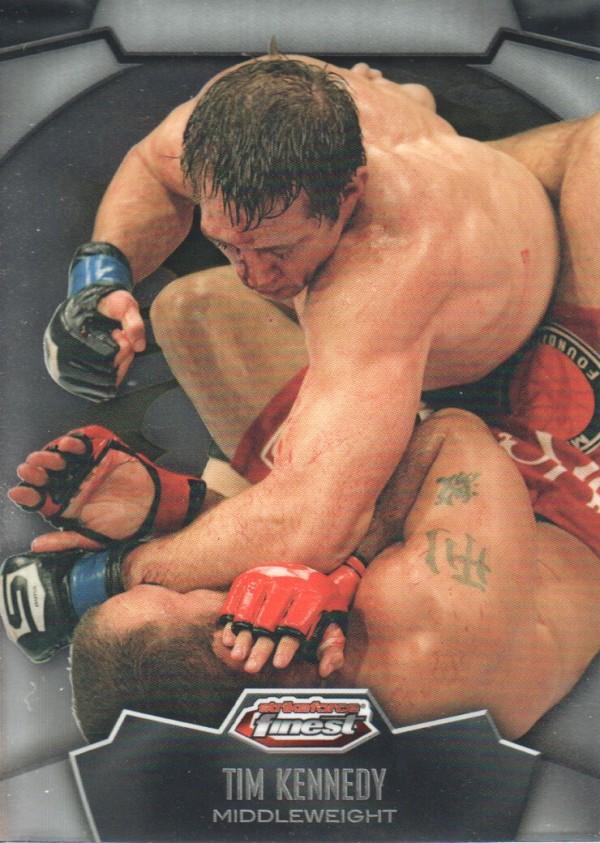 2012 Finest UFC #7 Tim Kennedy