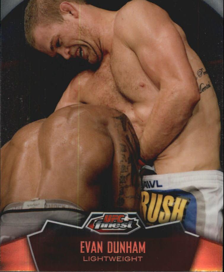 2012 Finest UFC #8 Evan Dunham