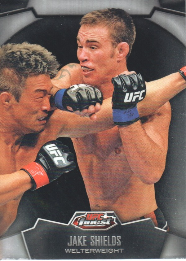 2012 Finest UFC #11 Jake Shields