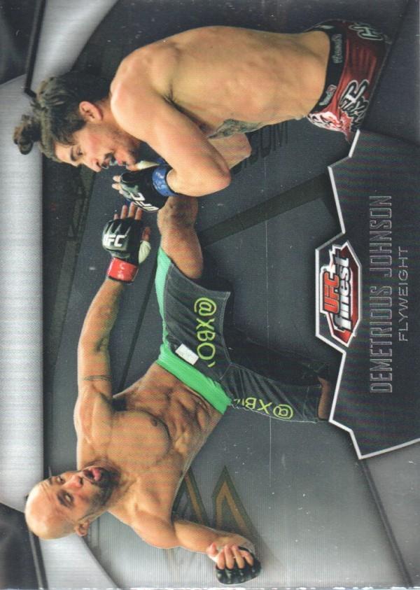 2012 Finest UFC #24 Demetrious Johnson