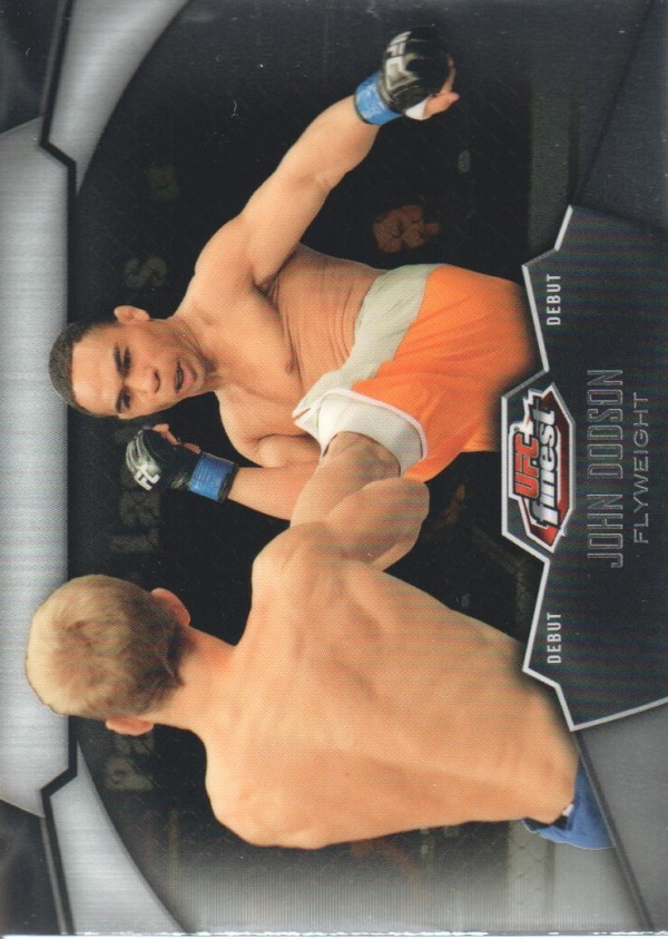 2012 Finest UFC #25 John Dodson