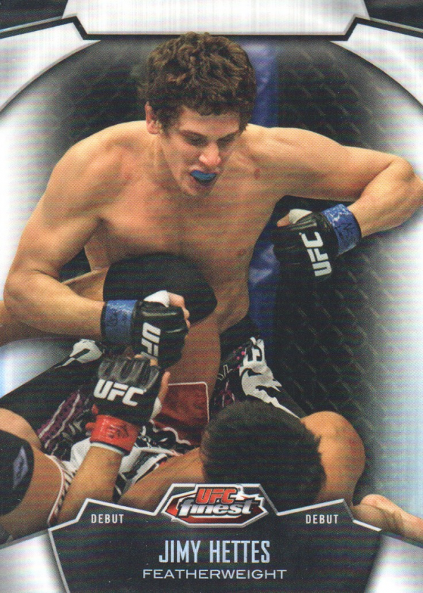 2012 Finest UFC Refractors #48 Jimy Hettes