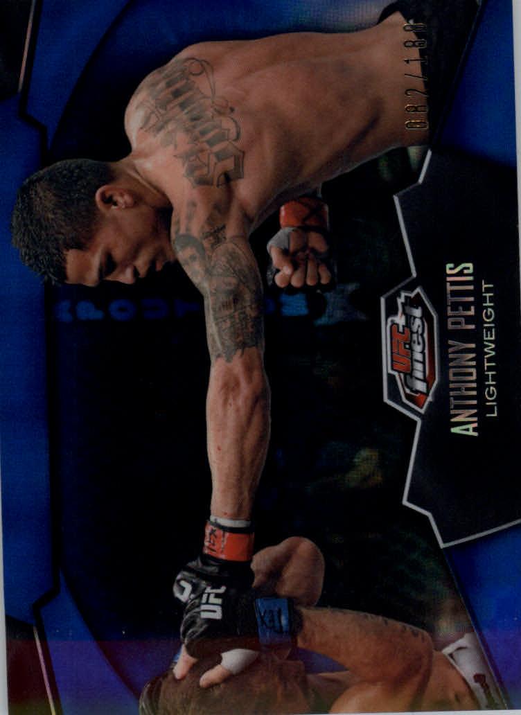 2012 Finest UFC X-Fractors #2 Anthony Pettis