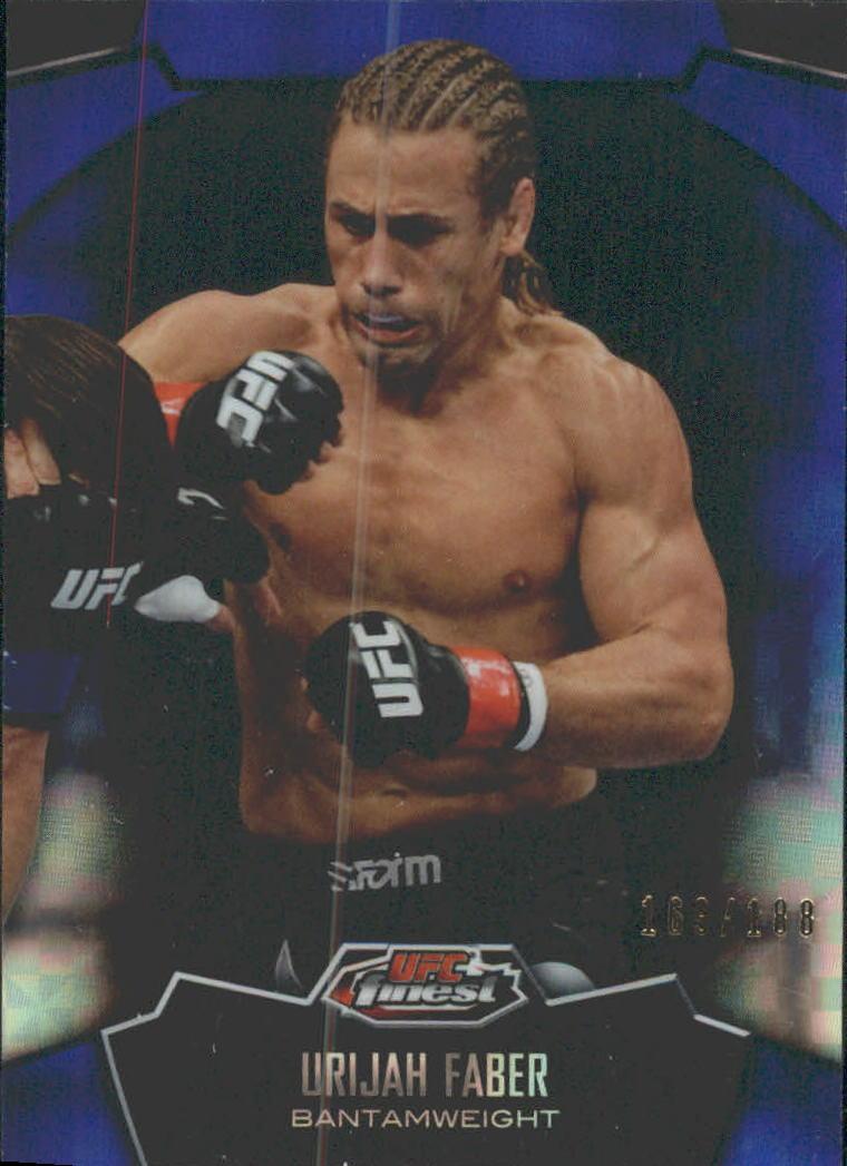 2012 Finest UFC X-Fractors #3 Urijah Faber
