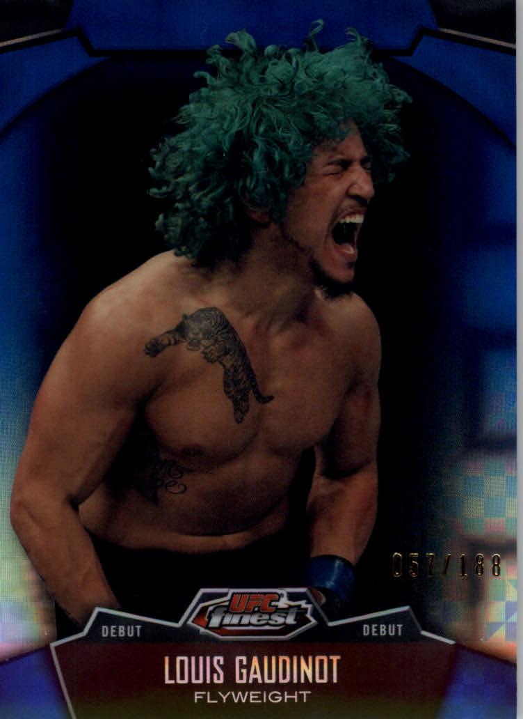 2012 Finest UFC X-Fractors #5 Louis Gaudinot