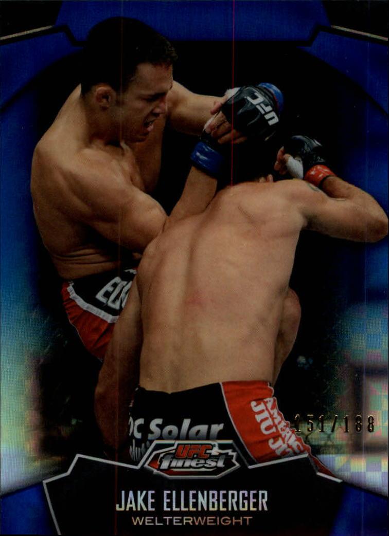 2012 Finest UFC X-Fractors #6 Jake Ellenberger