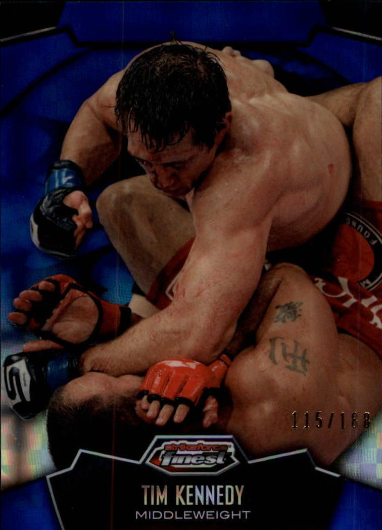 2012 Finest UFC X-Fractors #7 Tim Kennedy