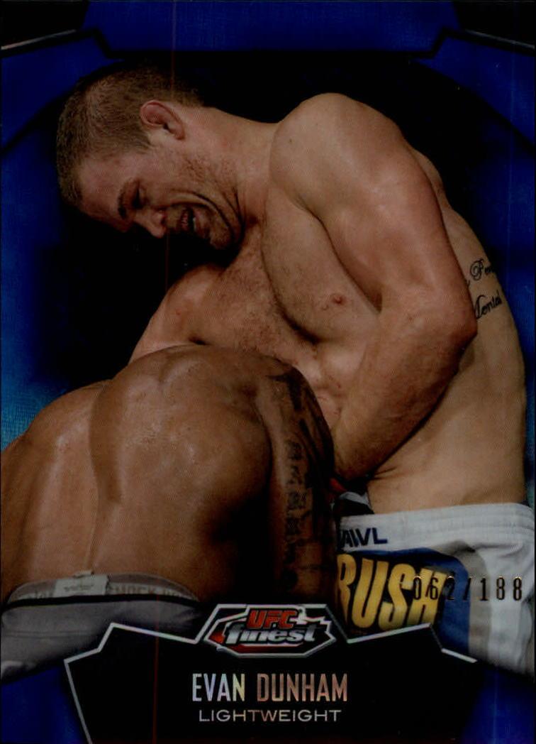 2012 Finest UFC X-Fractors #8 Evan Dunham
