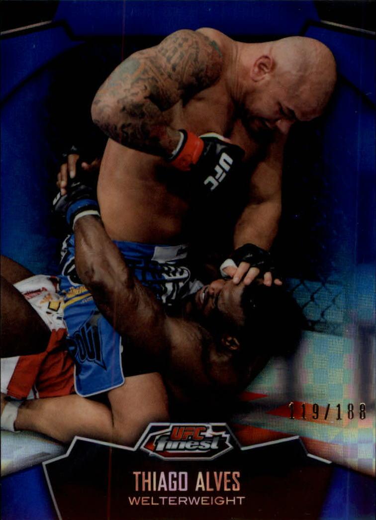 2012 Finest UFC X-Fractors #9 Thiago Alves