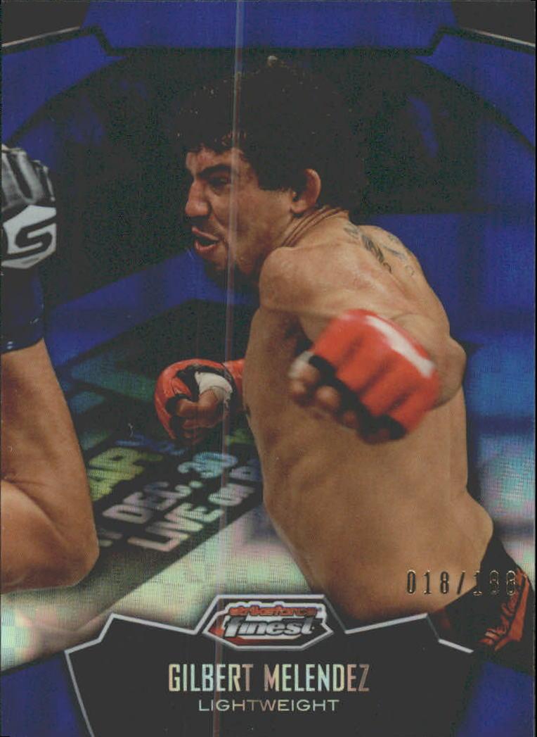2012 Finest UFC X-Fractors #10 Gilbert Melendez