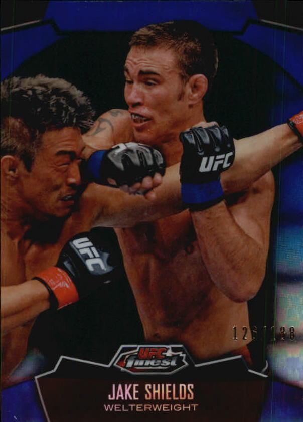 2012 Finest UFC X-Fractors #11 Jake Shields