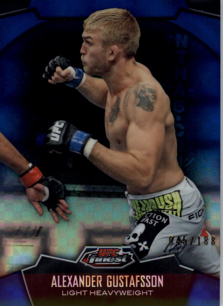 2012 Finest UFC X-Fractors #12 Alexander Gustafsson