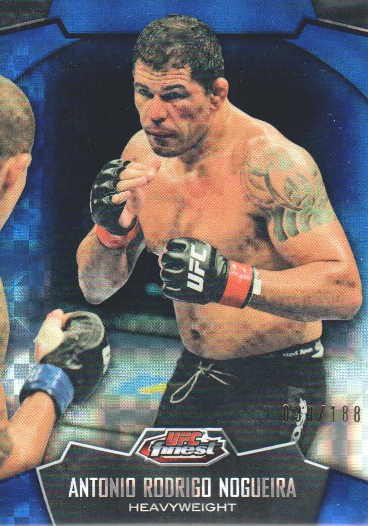 2012 Finest UFC X-Fractors #15 Antonio Rodrigo Nogueira