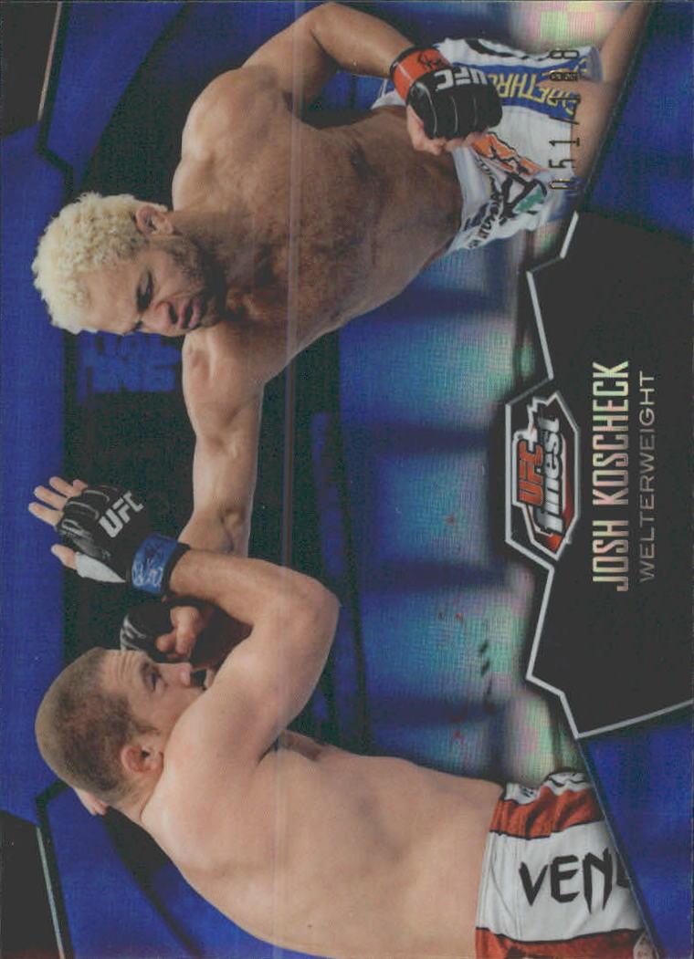 2012 Finest UFC X-Fractors #19 Josh Koscheck