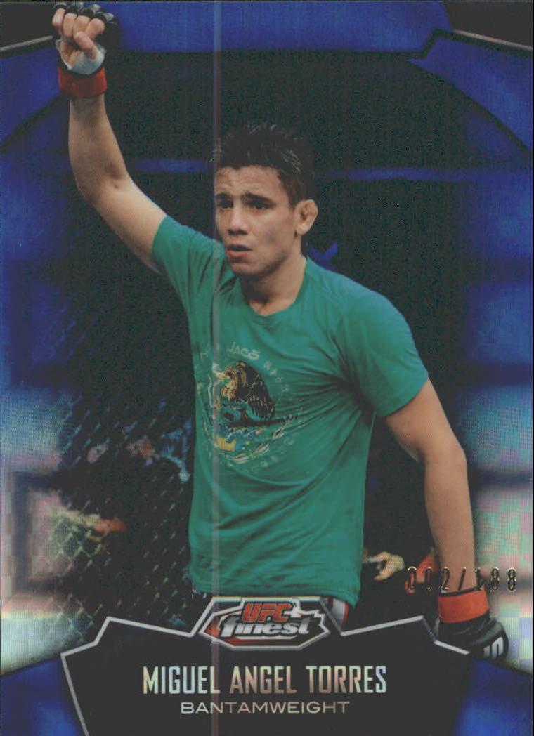 2012 Finest UFC X-Fractors #21 Miguel Angel Torres