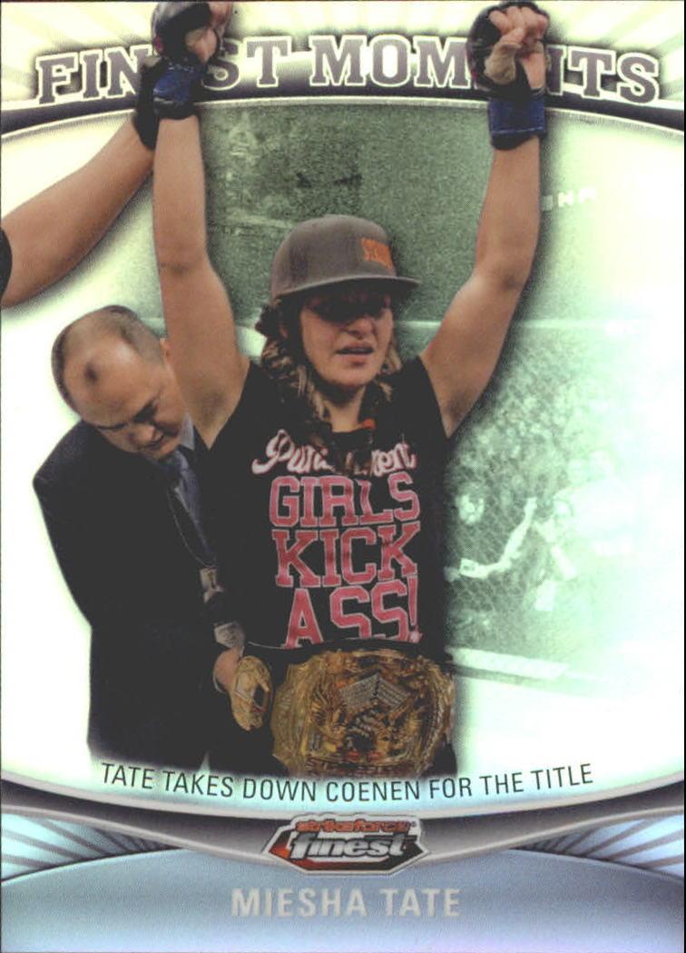 2012 Finest UFC Finest Moments #FMMT Miesha Tate