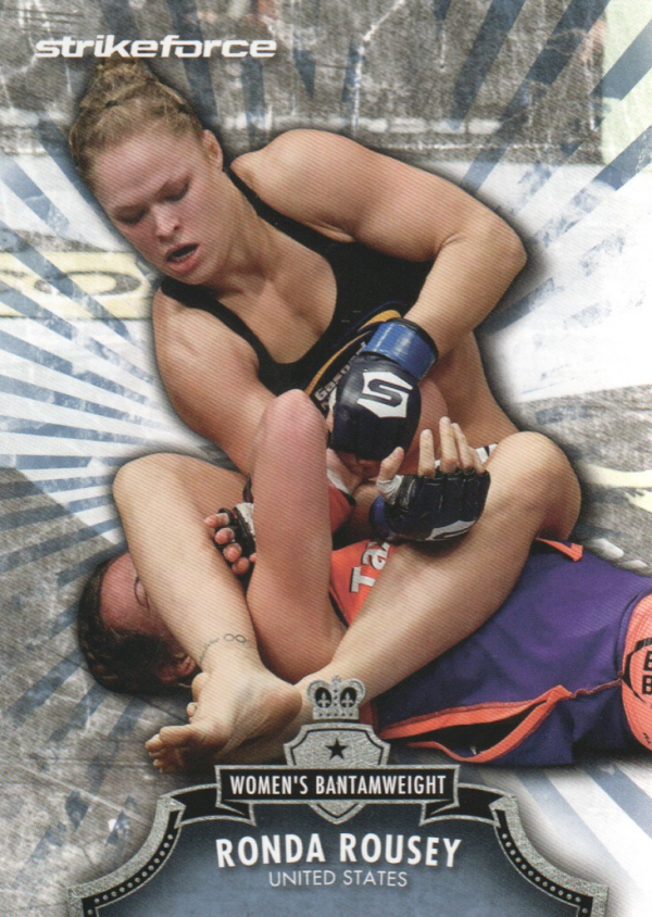 2012 Topps UFC Bloodlines #150 Ronda Rousey