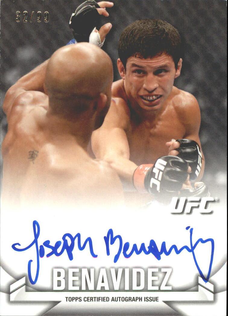 2013 Topps UFC Knockout Autographs #KAJB Joseph Benavidez/99