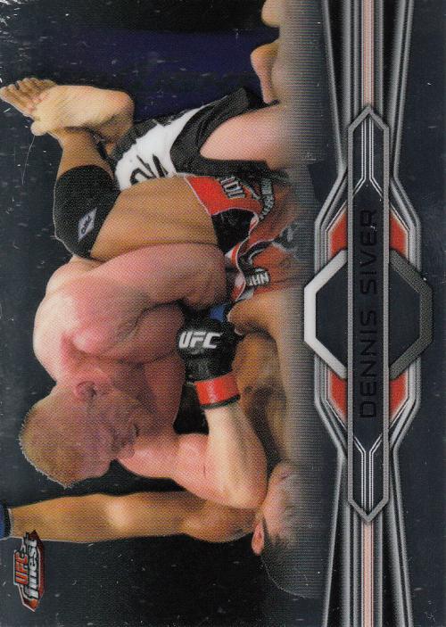 2013 Finest UFC #4 Dennis Siver