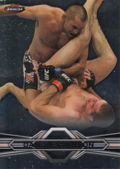 2013 Finest UFC #6 Dan Henderson