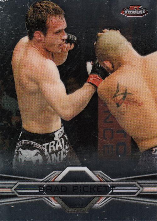 2013 Finest UFC #13 Brad Pickett