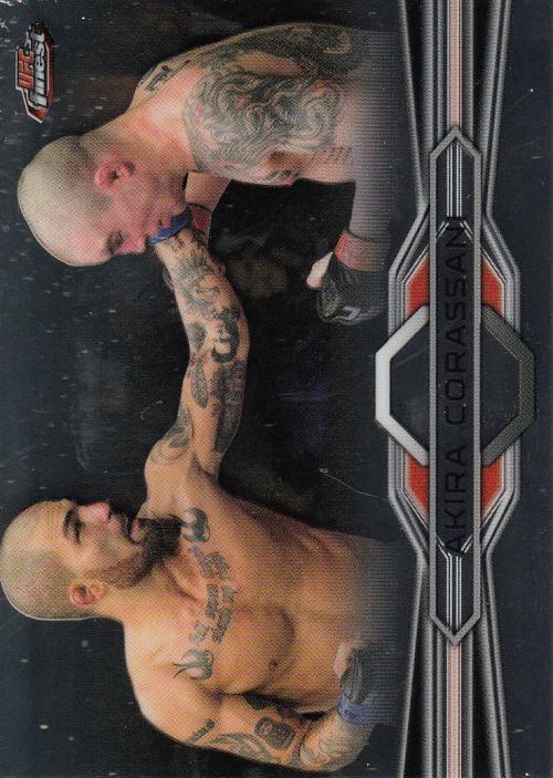 2013 Finest UFC #17 Akira Corassani