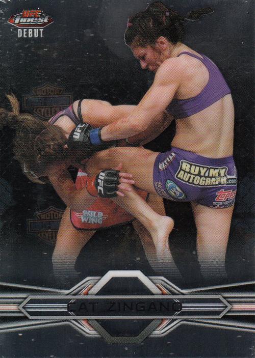 2013 Finest UFC #19 Cat Zingano