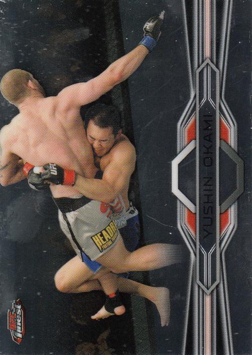 2013 Finest UFC #21 Yushin Okami