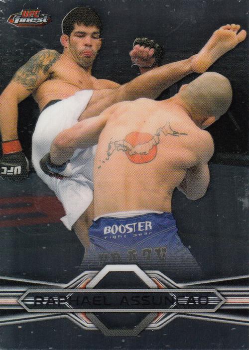 2013 Finest UFC #25 Raphael Assuncao