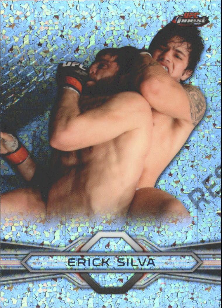 2013 Finest UFC Refractors #39 Erick Silva