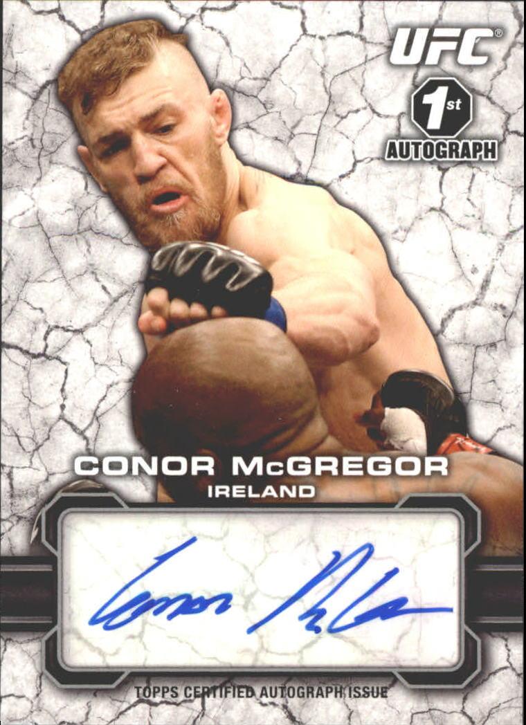 2013 Topps UFC Bloodlines Autographs #FACM Conor McGregor
