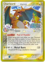2006 Pokemon EX Crystal Guardians #4  Charizard DS HOLO R