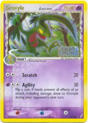 2006 Pokemon EX Crystal Guardians #19  Grovyle DS R