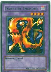 2002 Yu-Gi-Oh Legend of Blue Eyes White Dragon 1st Edition #LOB19 Darkfire Dragon R