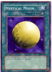 2002 Yu-Gi-Oh Legend of Blue Eyes White Dragon 1st Edition #LOB94 Mystical Moon SP