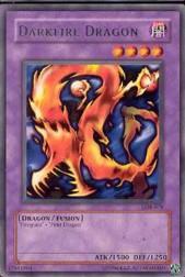 2002 Yu-Gi-Oh Legend of Blue Eyes White Dragon Unlimited #LOB19 Darkfire Dragon R
