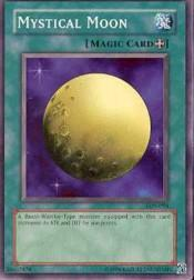 2002 Yu-Gi-Oh Legend of Blue Eyes White Dragon Unlimited #LOB94 Mystical Moon SP