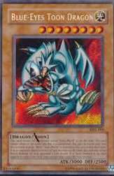 2002 Yu-Gi-Oh Magic Ruler 1st Edition #MRL0 Blue Eyes Toon Dragon SCR