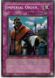 2002 Yu-Gi-Oh Pharaoh's Servant 1st Edition #PSV104 Imperial Order SCR
