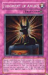 2003 Yu-Gi-Oh Dark Crisis 1st Edition #DCR105 Judgment of Anubis SCR