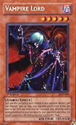2003 Yu-Gi-Oh Dark Crisis 1st Edition #DCR0 Vampire Lord SCR