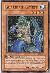2003 Yu-Gi-Oh Dark Crisis 1st Edition #DCR9 Guardian Kay'est C