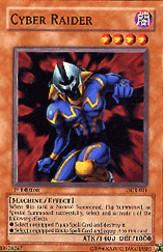 2003 Yu-Gi-Oh Dark Crisis 1st Edition #DCR11 Cyber Raider SP